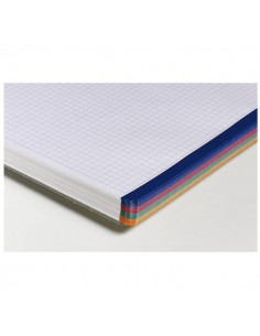 CUADERNO CLAIREFONTAINE A4 5 X 5 (82879) 80 HOJAS