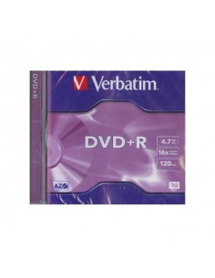 DVD VERBATIM +R 16X 4.7 GB 120 MINUTOS