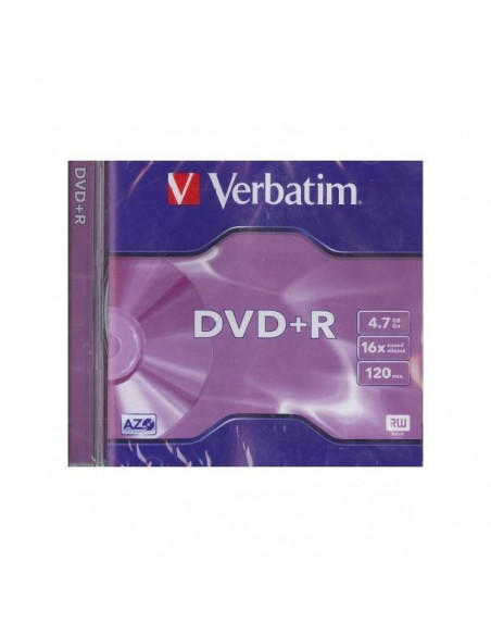 DVD VERBATIM 16 X 4.7 GB 120 MINUTOS 1UND
