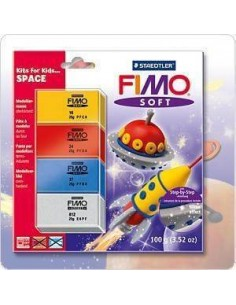 FIMO SOFT KITS FOR KIDS - SPACE