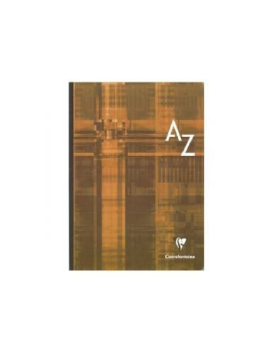CUADERNO INDICE COSIDO CLAIREFONTAINE