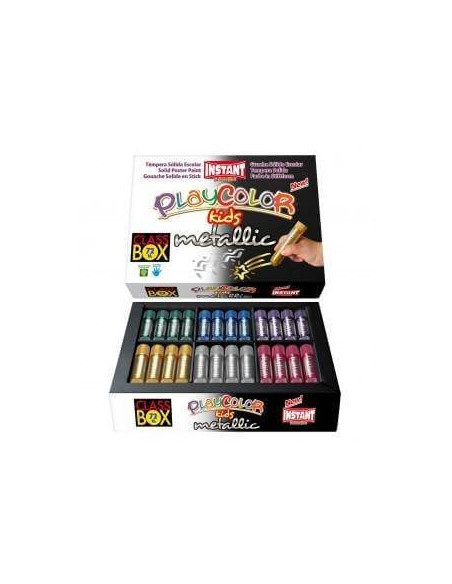 PLAYCOLOR 10 G METALLIC CLASS-BOX 72 UNIDADES *